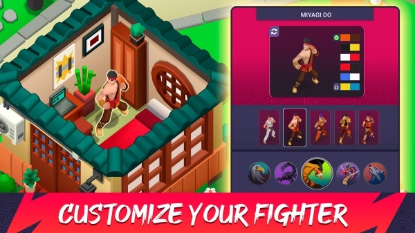 Dojo Fight Club - PvP Battle Android Game Image 4