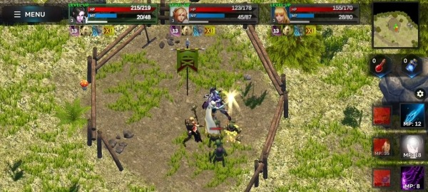 Fantasy Heroes: Legendary Raid RPG Action Offline Android Game Image 2