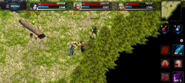 Fantasy Heroes: Legendary Raid RPG Action Offline Android Game Image 3