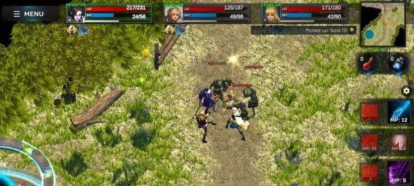 Fantasy Heroes: Legendary Raid RPG Action Offline Android Game Image 4