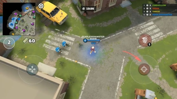 Grand Wars: Mafia City Android Game Image 1