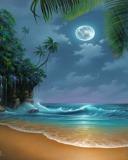 Beach View  Mobile Phone Wallpaper