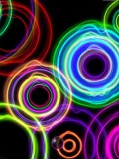 Circles  Mobile Phone Wallpaper
