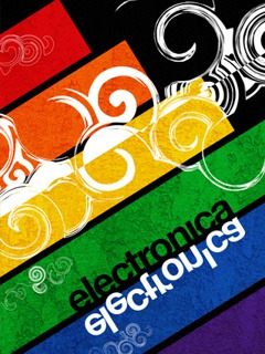 Electronica  Mobile Phone Wallpaper