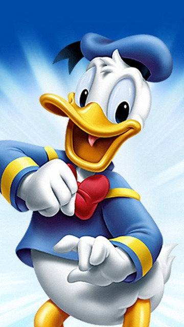 File Title: Donald Duck File Type: Mobile Phone Wallpaper Categories: Drawn/Cartoons Resolution: 360 x 640 pixels File Size: 12 KB Posted On: 16 Mar, 2011