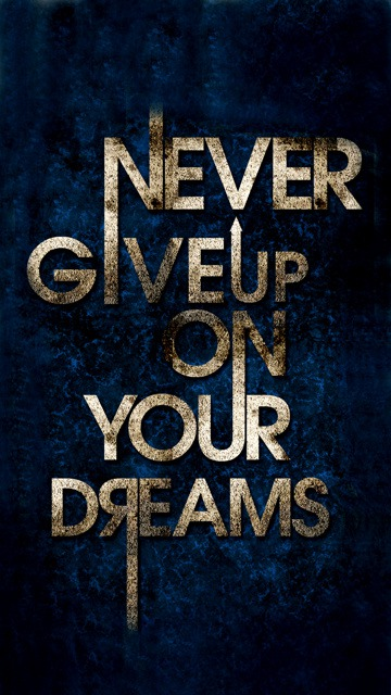 Download Free Mobile Phone Wallpaper Dont Give Up 1396