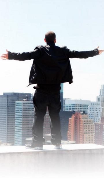 Download Free Mobile Phone Wallpaper Eminem Not Afraid 1200