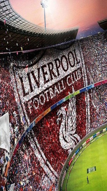 Download Free Mobile Phone Wallpaper Liverpool Crowd