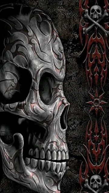 Skull  Mobile Phone Wallpaper