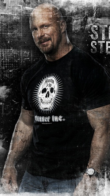 Wwe Stonecold Austin  Mobile Phone Wallpaper