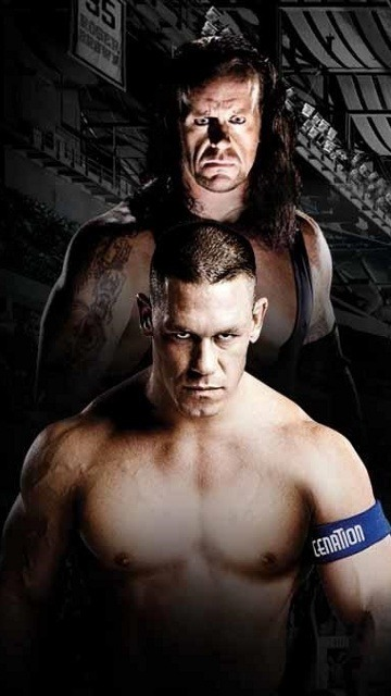 Wwe Undertaker Cena  Mobile Phone Wallpaper