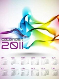 Calender 2011  Mobile Phone Wallpaper