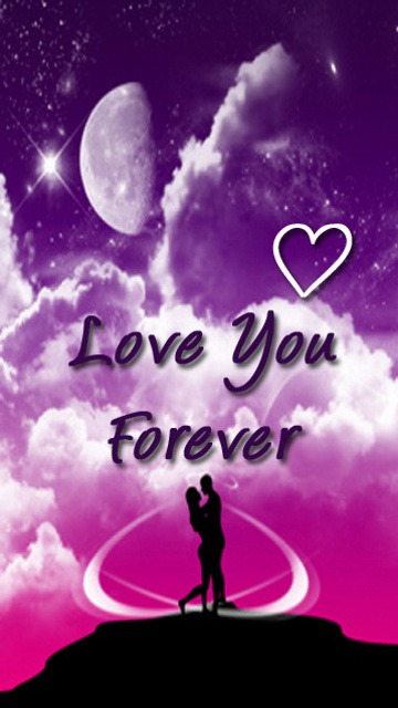 Download Free Mobile Phone Wallpaper Love You Forever