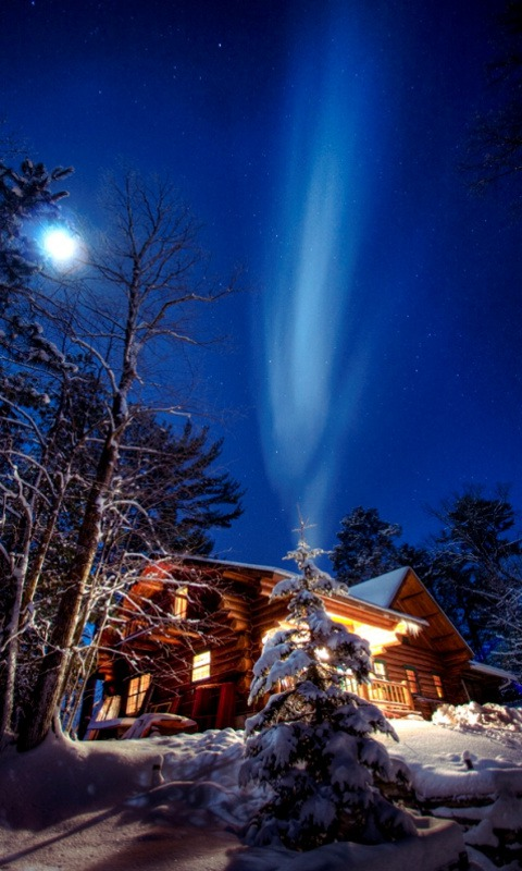 Download free mobile phone wallpaper winter night 591 - Free winter wallpaper for phone ...