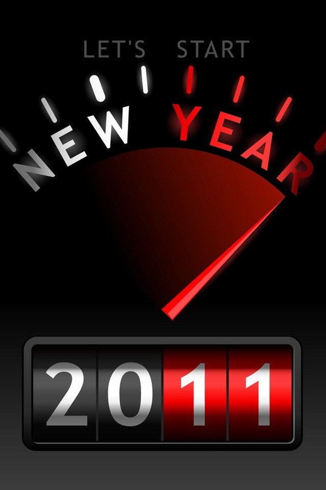 New Year  Mobile Phone Wallpaper