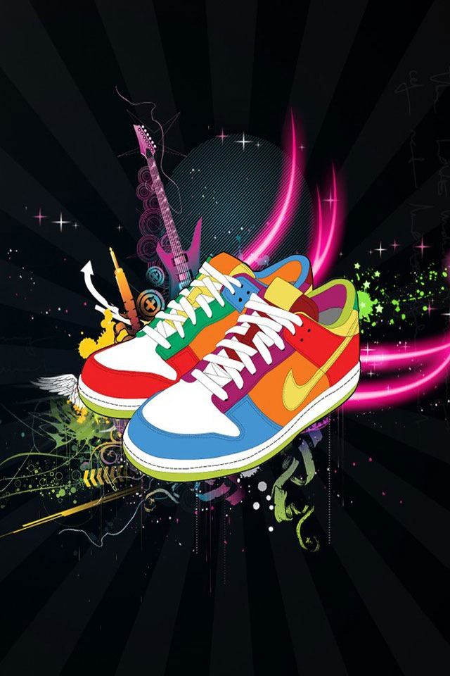 Download Free Mobile Phone Wallpaper Nike Colorful 1715