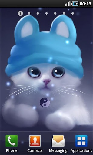 Download Free Yang The Cat Android Mobile Phone Wallpaper