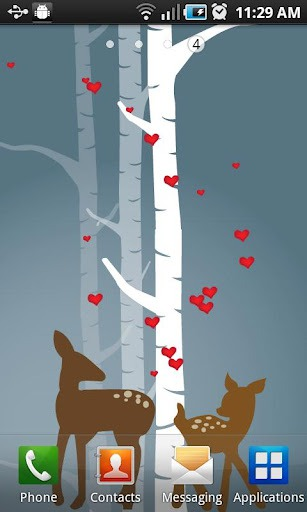 Love Critters Android Mobile Phone Wallpaper