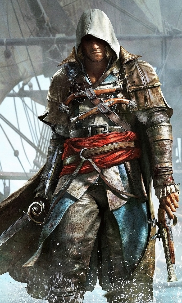 Download Free Mobile Phone Wallpaper Assassins Creed 4 2362