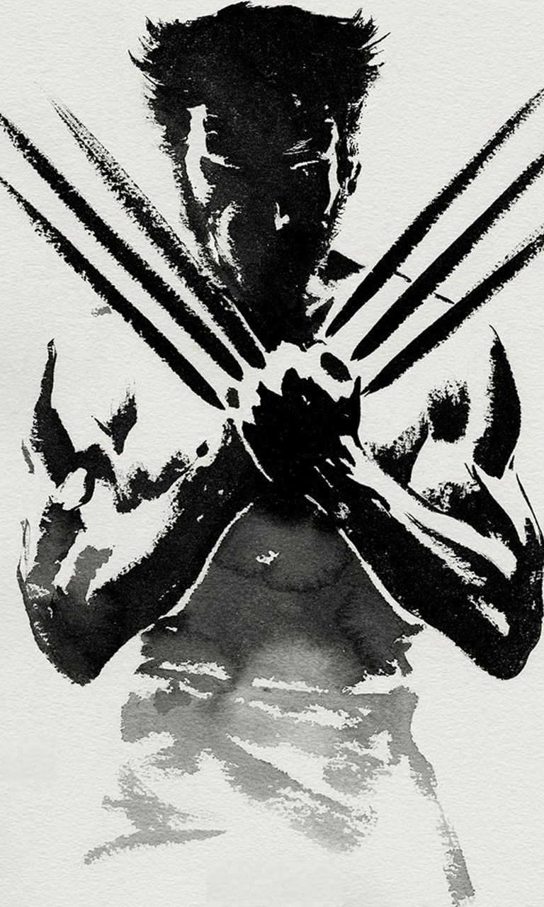The Wolverine  Mobile Phone Wallpaper