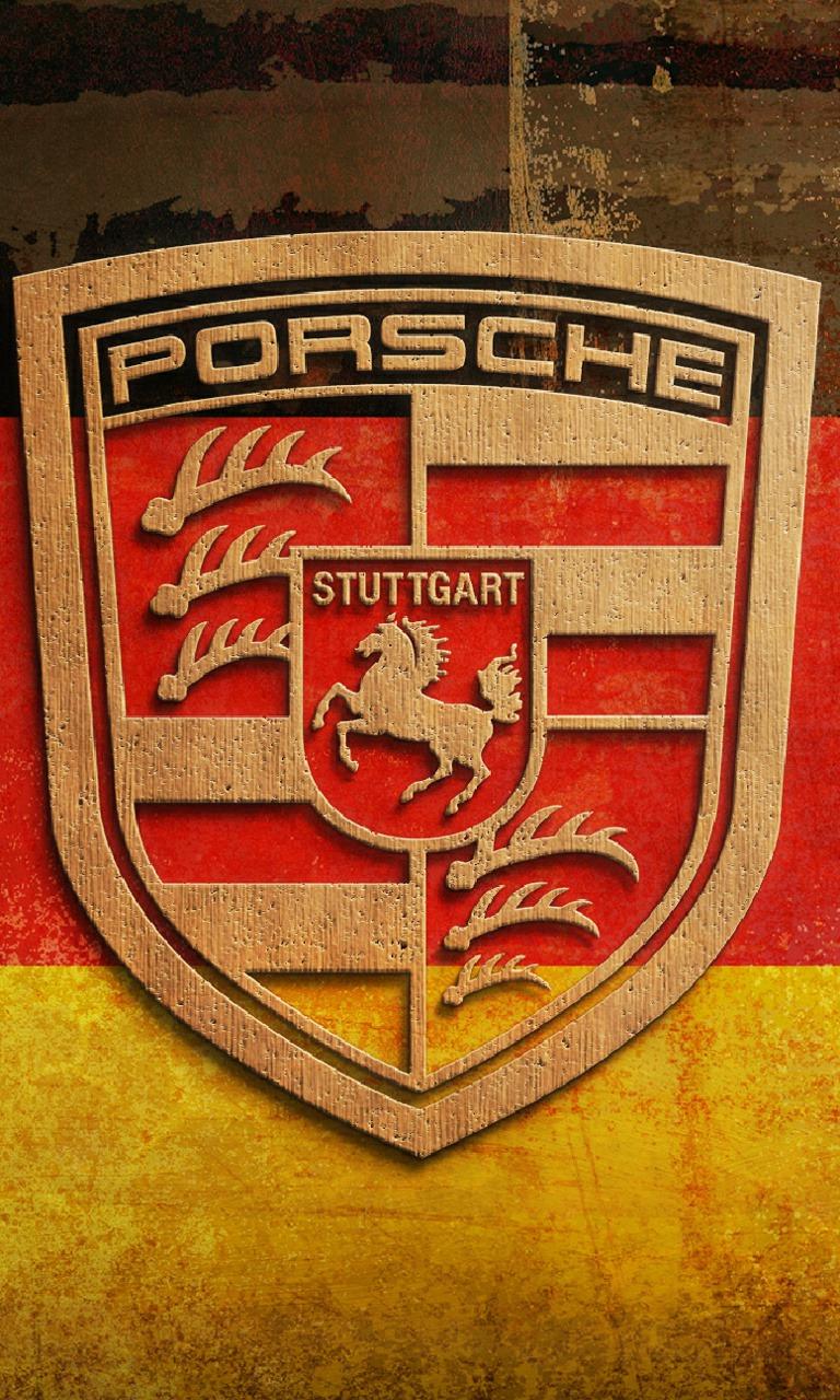 Porsche Logo  Mobile Phone Wallpaper