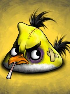 Angry Bird  Mobile Phone Wallpaper