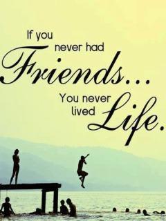 Friends Life  Mobile Phone Wallpaper
