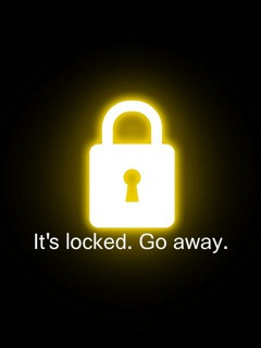 Locked  Mobile Phone Wallpaper