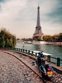Paris Beautifull  Mobile Phone Wallpaper