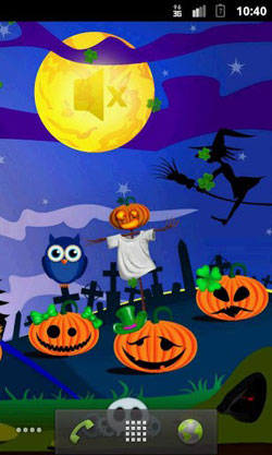 Halloween Pumpkins QMobile NOIR A10 Wallpaper
