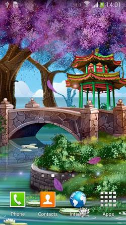 Magic Garden QMobile NOIR A10 Wallpaper