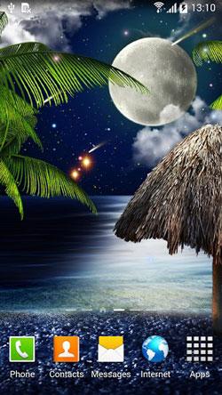 Tropical Night QMobile NOIR A10 Wallpaper