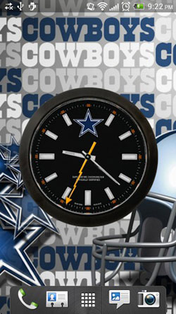 Dallas Cowboys: Watch Android Mobile Phone Wallpaper