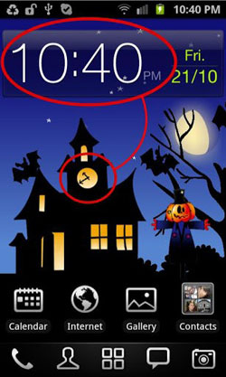 Download Free Android Wallpaper Halloween: Moving World