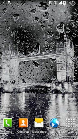 Rainy London QMobile NOIR A10 Wallpaper