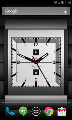 Watch Square Lite QMobile NOIR A10 Wallpaper