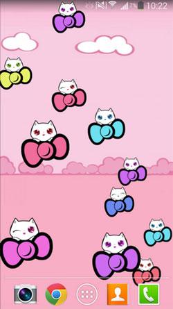 Kitty Cute QMobile NOIR A10 Wallpaper
