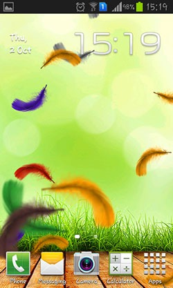 Feather QMobile NOIR A10 Wallpaper