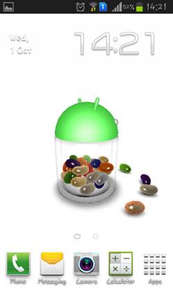 Jelly Bean 3D QMobile NOIR A10 Wallpaper