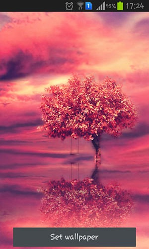 Red Tree QMobile NOIR A10 Wallpaper