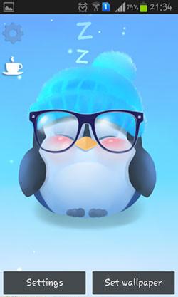 Chubby Penguin QMobile NOIR A10 Wallpaper