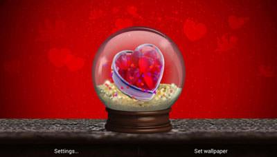 Love World QMobile NOIR A10 Wallpaper