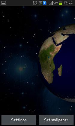 Planets 3D QMobile NOIR A10 Wallpaper