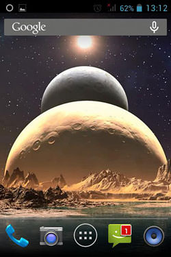 Space Mars: Star QMobile NOIR A10 Wallpaper
