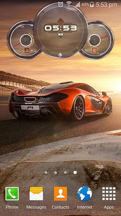 Cars Clock