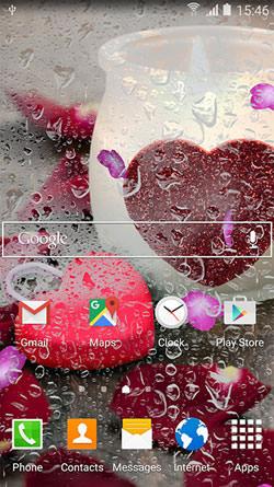 Romantic QMobile NOIR A10 Wallpaper