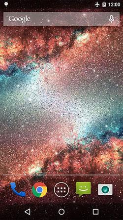 Galaxy Dust QMobile NOIR A10 Wallpaper