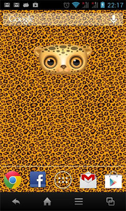 Zoo: Leopard Android Mobile Phone Wallpaper
