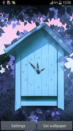 Cartoon Clock QMobile NOIR A10 Wallpaper