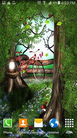 Green QMobile NOIR A10 Wallpaper